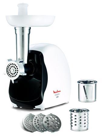 Мясорубка Moulinex ME110130 1600Вт белый/черный