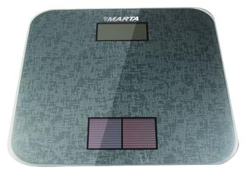 Электронные напольные весы MARTA MT-1663 металлик