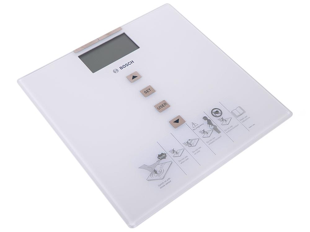 Электронные напольные весы Bosch PPW3330 bosch весы напольные электронные bosch ppw3320 180кг