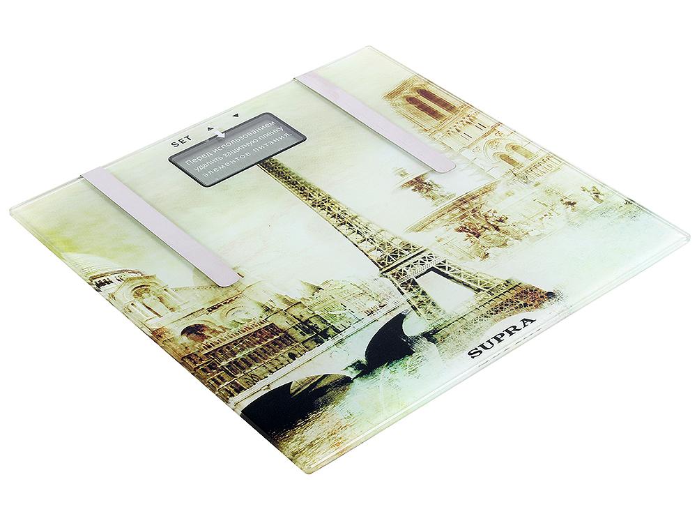 Электронные напольные весы SUPRA BSS-6900P стеклянные