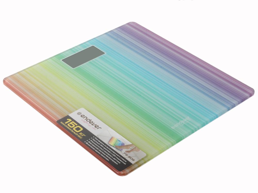Электронные напольные весы Endever FS-509 endever skyline fs 509 напольные весы