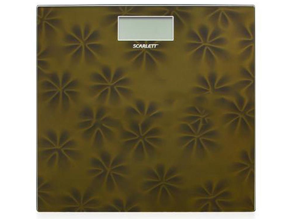 Электронные напольные весы Scarlett SC-2218 (золотой)