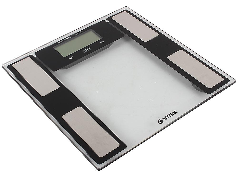 Электронные напольные весы VITEK VT-1983 BK напольные весы vitek vt 1987 bk