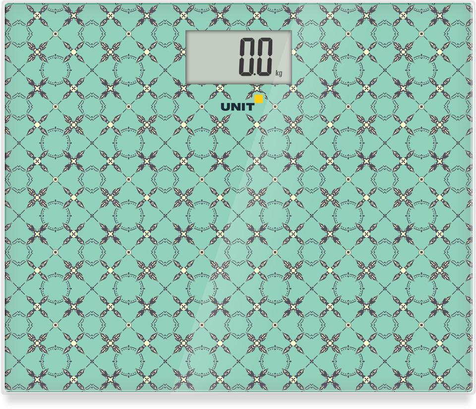 Электронные напольные весы UNIT UBS-2080 Морская волна