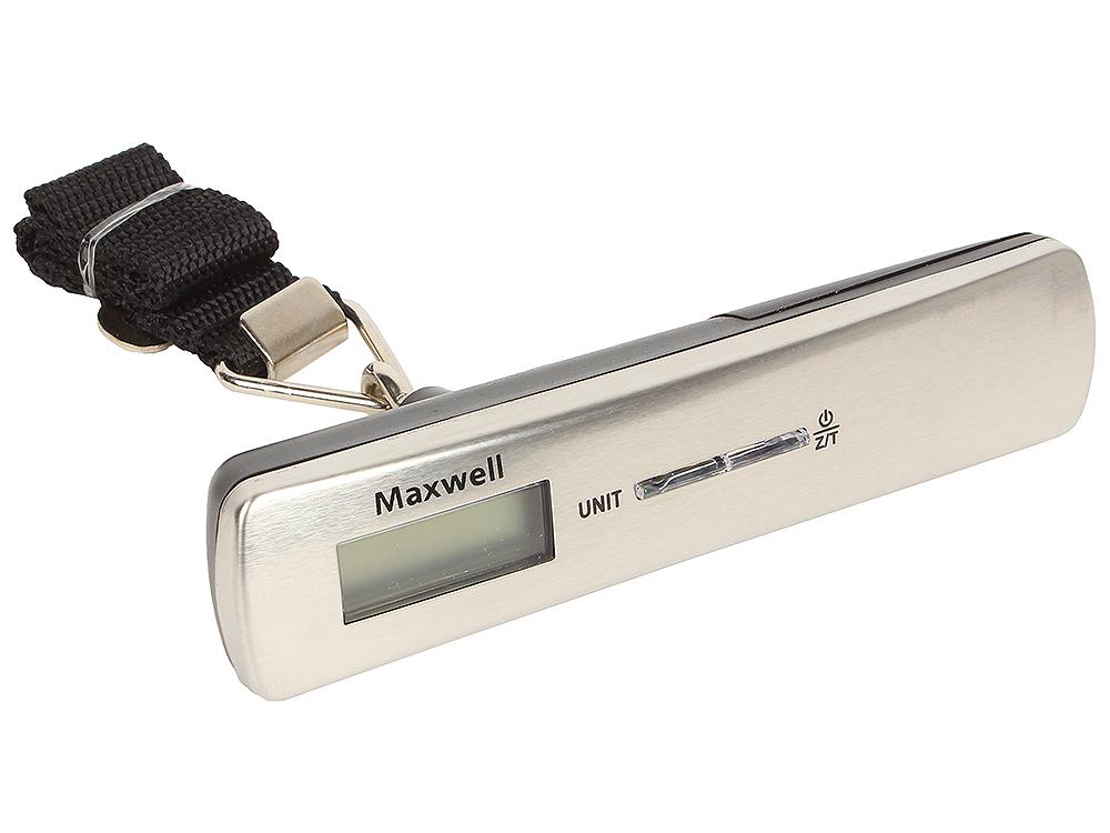 Весы багажные Maxwell MW-1463 (ST) весы багажные maxwell mw 1462 sr электронные серебристый