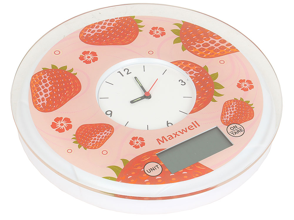 Электронные кухонные весы Maxwell MW-1452 (R)