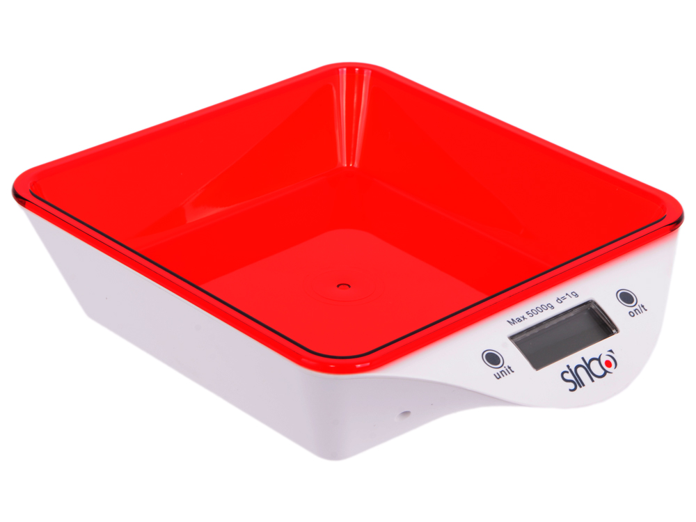 Весы кухонные Sinbo SKS 4520 красный весы кухонные sinbo sks 4521 красный sks 4521 красный
