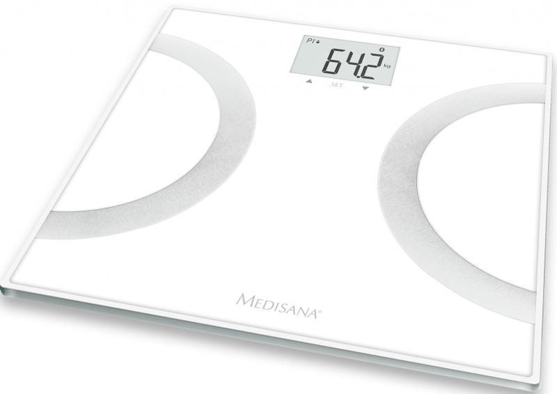 Весы напольные Medisana BS 445 Connect белый чёрный