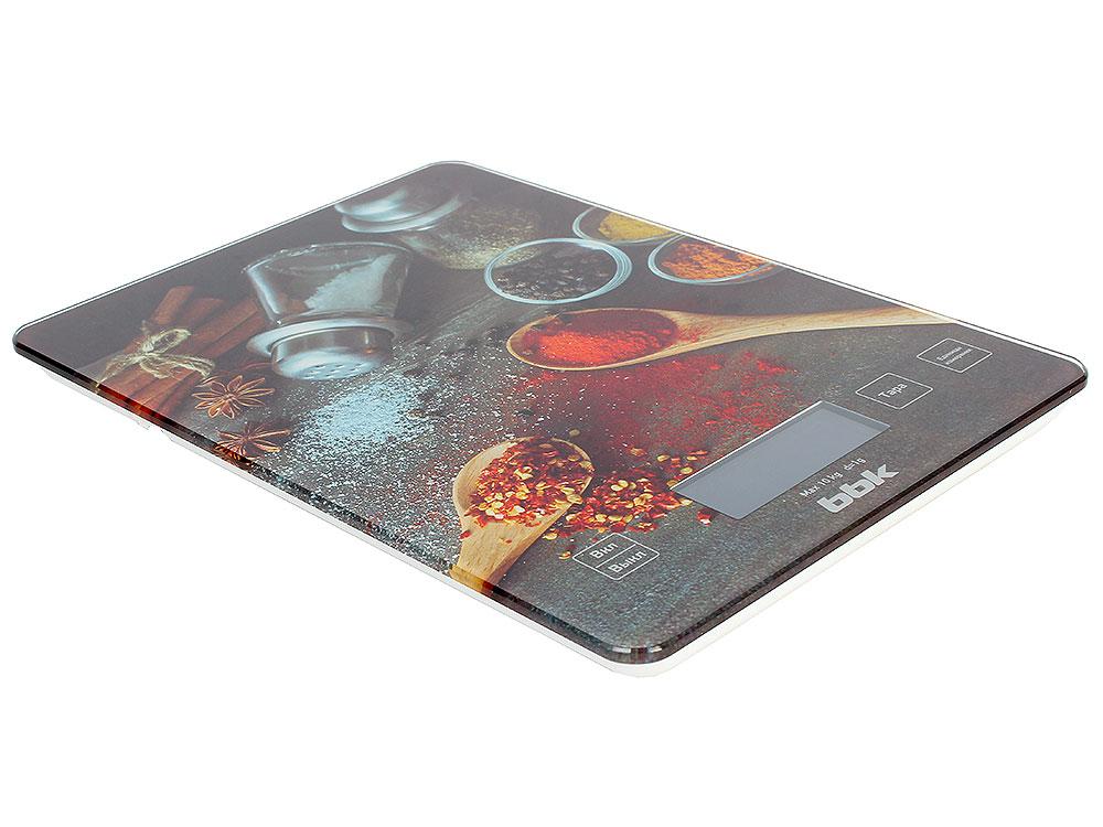 электронные игрушки Электронные кухонные весы BBK KS100G черный