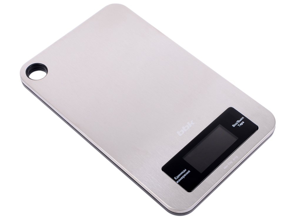 Электронные кухонные весы BBK KS152M металлик