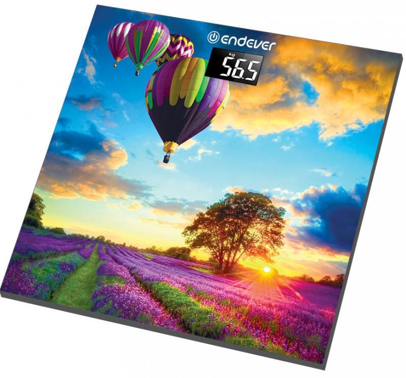 Весы напольные ENDEVER Aurora-551 разноцветный битоков арт блок z 551
