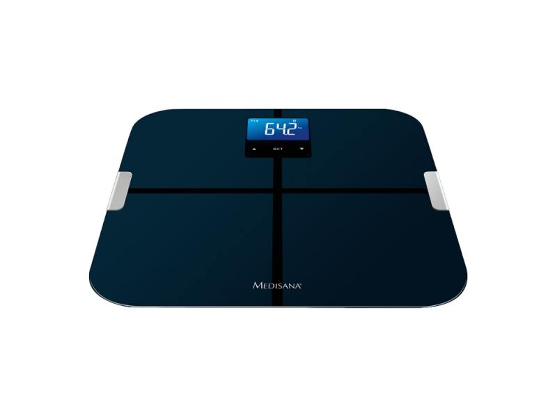 Весы напольные Medisana BS 440 Connect чёрный напольные весы medisana bs 440 connect до 180кг цвет черный [40423]