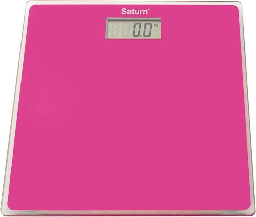 Весы напольные Saturn ST-PS 1247 розовый