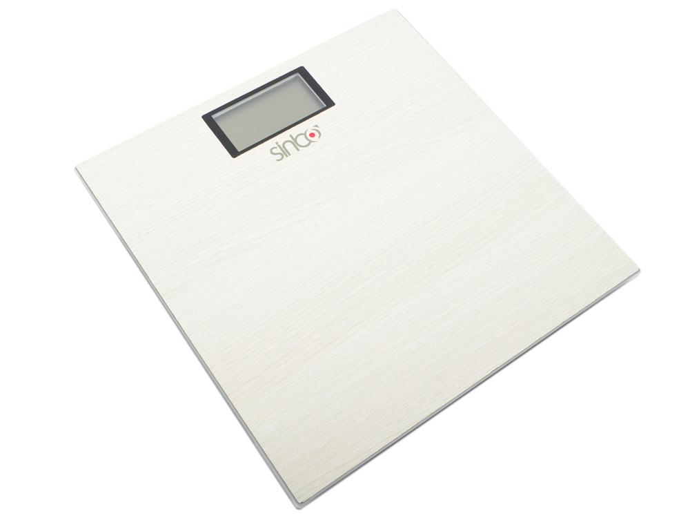 Весы напольные Sinbo SBS-4423 (4423SN) белый цена и фото