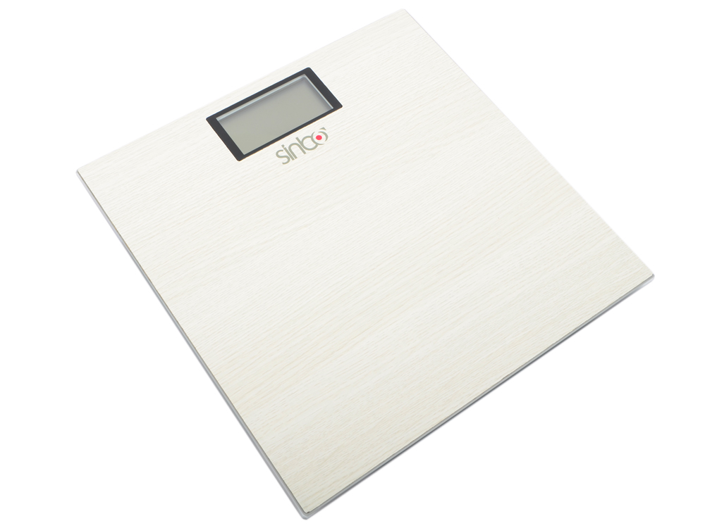 Весы напольные Sinbo SBS-4423 (4423SN) белый напольные весы sinbo sbs 4429 до 180кг цвет розовый
