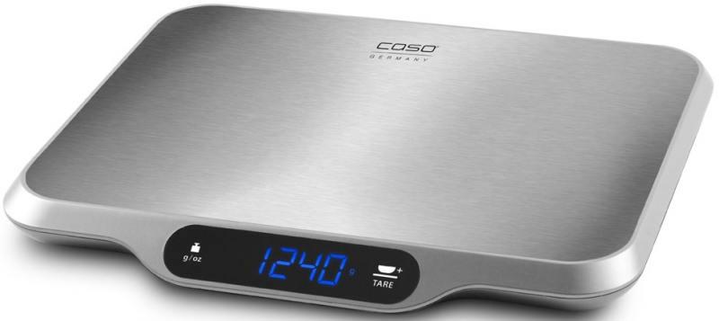 Весы кухонные CASO L 15 3292 серебристый