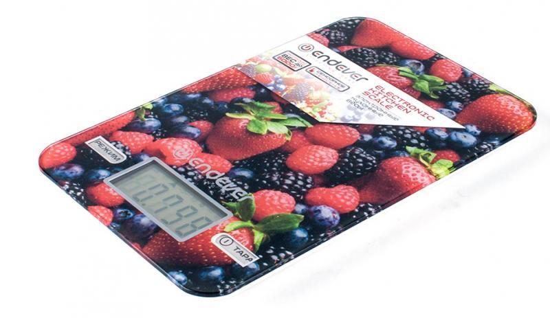 Весы кухонные ENDEVER KS-528 рисунок цена