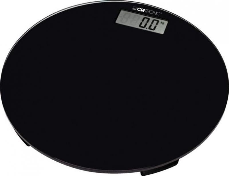 Весы напольные Clatronic PW 3369 Glas чёрный мини печь clatronic mbg 3521