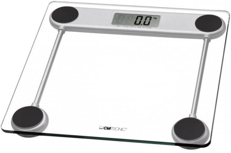 Весы напольные Clatronic PW 3368 Glas прозрачный glas 2 1991