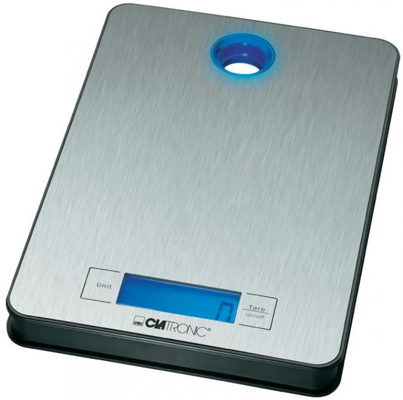 Кухонные весы Clatronic KW 3412 inox