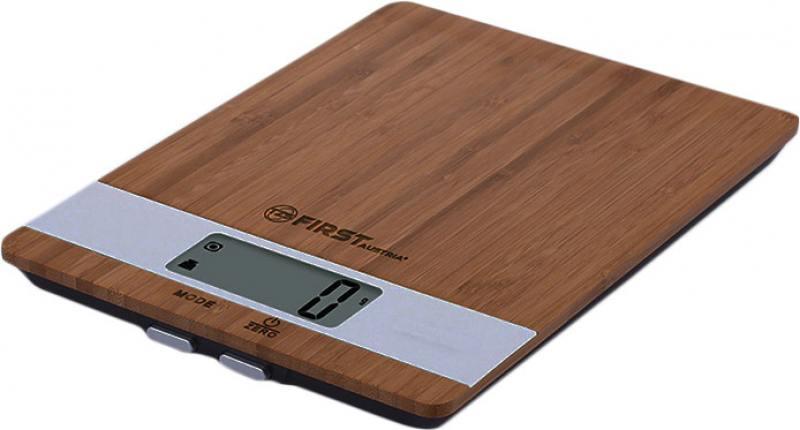 Весы кухонные First Special Edition FA-6410 коричневый