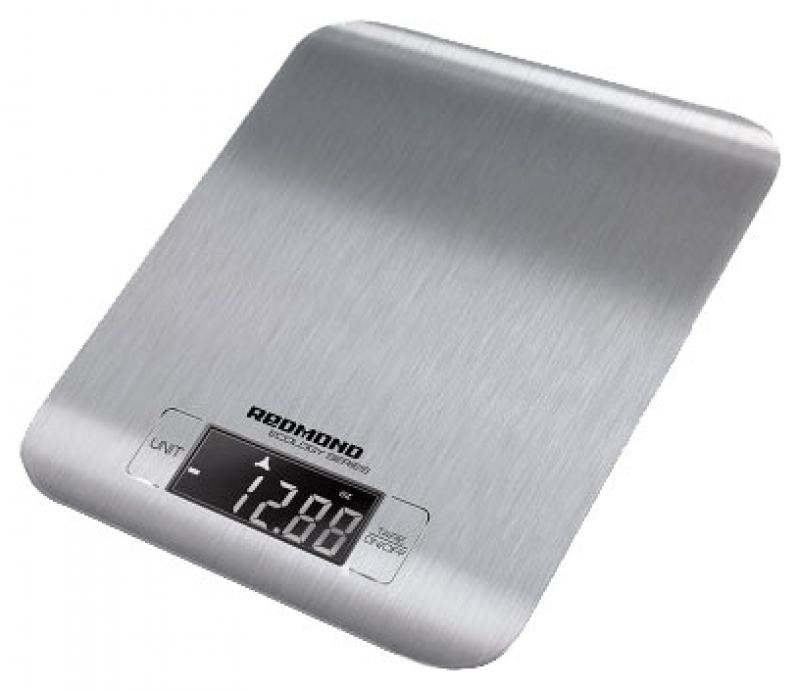Весы кухонные Redmond RS-M723 электронные серебристый весы кухонные электронные redmond rs 724