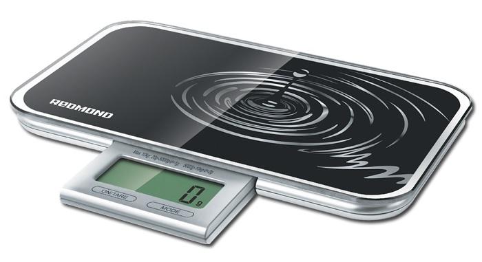 Весы кухонные Redmond RS-721 электронные черный стоимость