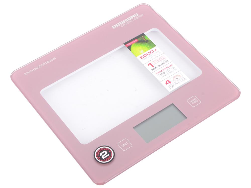 Весы кухонные Redmond RS-724 электронные розовый весы кухонные электронные redmond rs 724