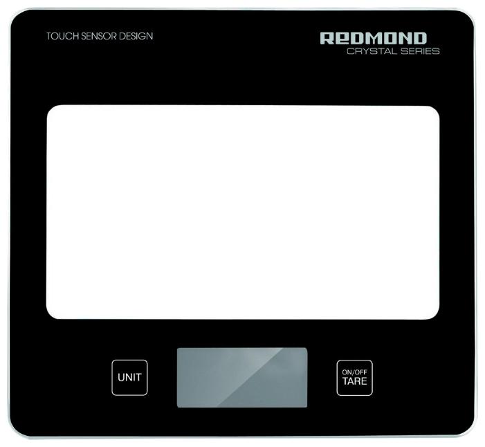 Весы кухонные Redmond RS-724 электронные черный весы напольные электронные redmond rs 729