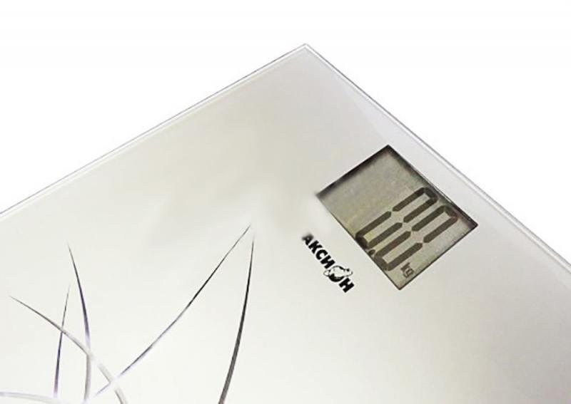 Весы напольные Аксион ВHЕ-31 белый электромясорубка аксион м 33 04 230 вт белый