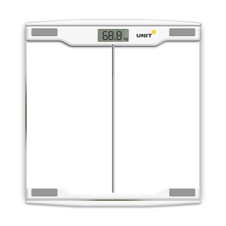 Весы напольные электронные UNIT UBS-2054 Светло-Серый весы unit ubs 2053 светло серый