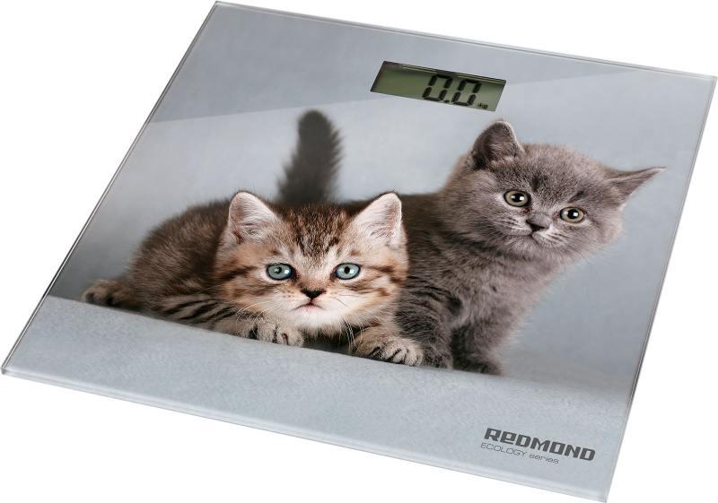 Весы напольные Redmond RS-735 серый рисунок