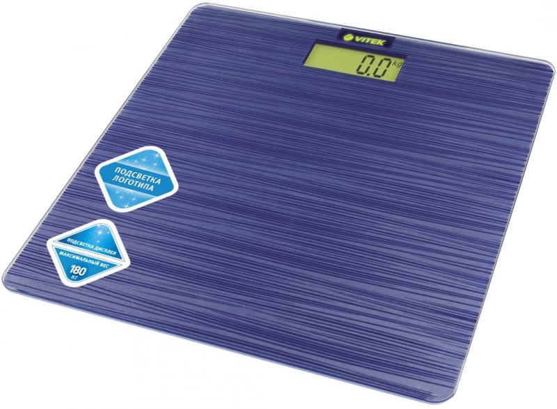 Весы напольные Vitek VT-8062 B синий vitek весы vitek vt 8062 b