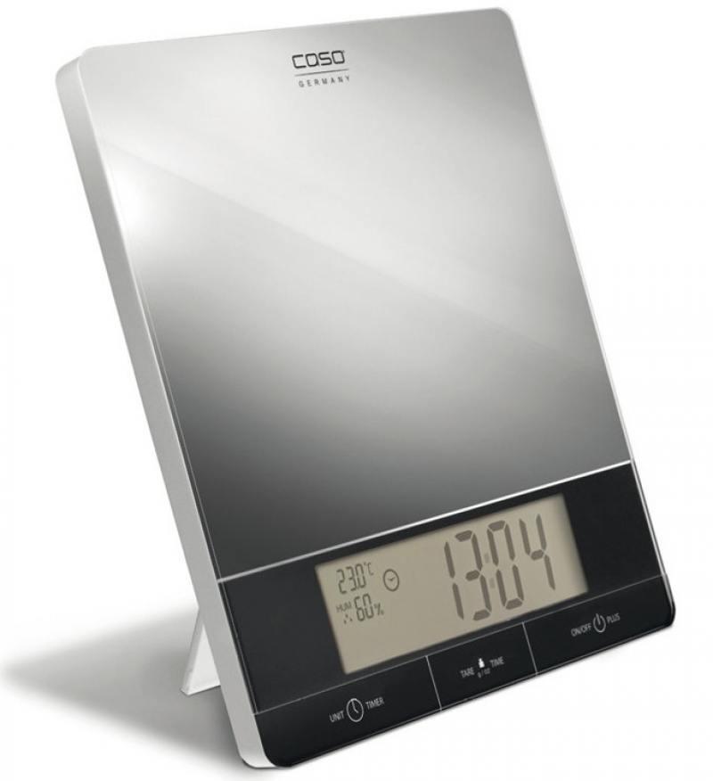Весы кухонные CASO I 10 серебристый caso l 20 white кухонные весы