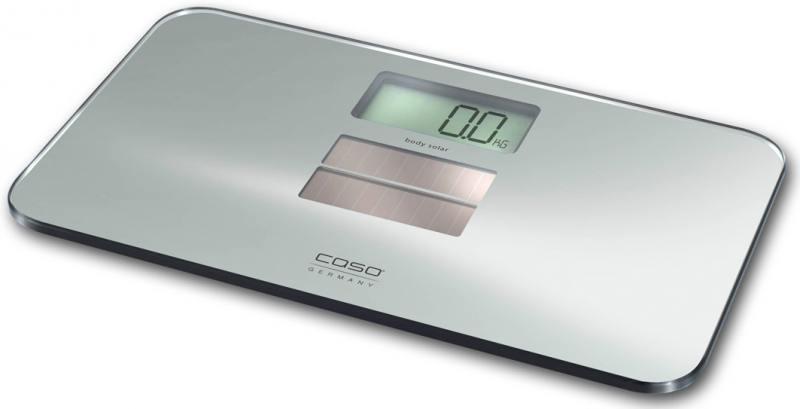 Весы напольные CASO Body Solar серебристый весы напольные caso body energy
