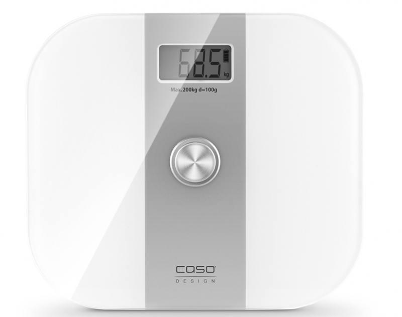 Весы напольные CASO Body Energy белый серебристый energy