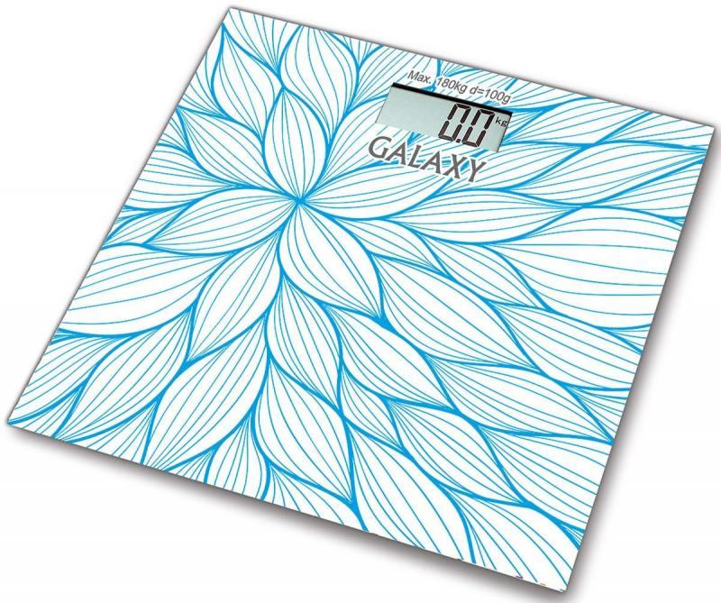Весы напольные GALAXY GL 4805 синий