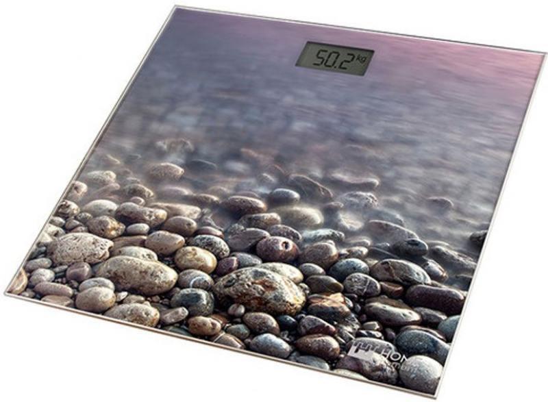 Весы напольные HOME ELEMENT HE-SC906 рисунок каменистый пляж весы кухонные home element he sc933 рисунок