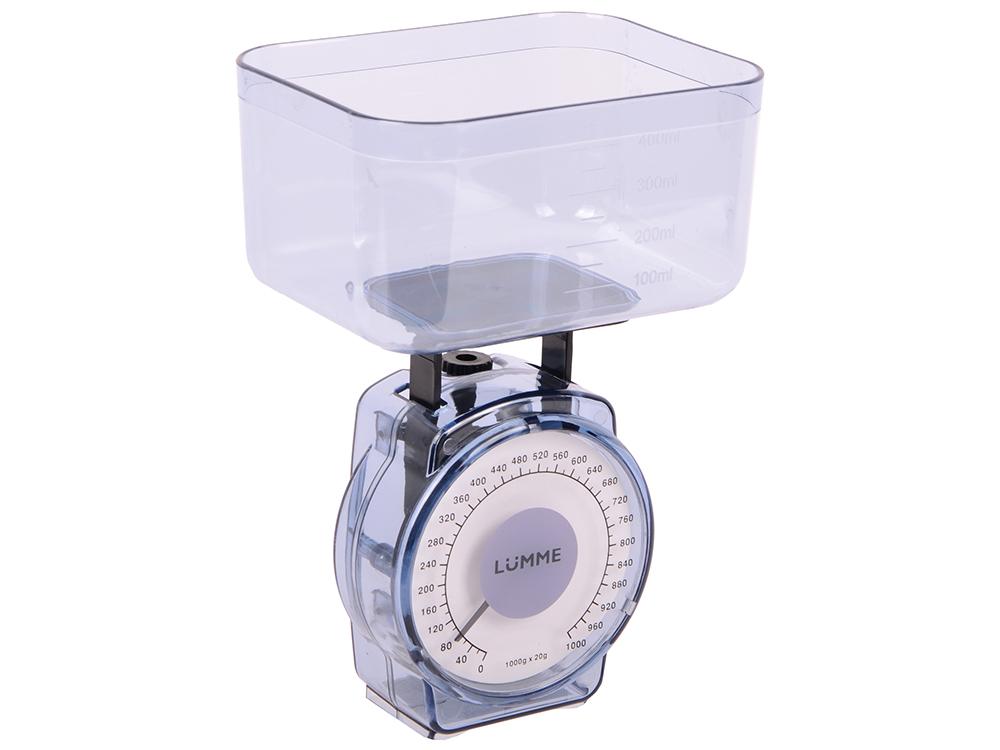 Весы кухонные Lumme LU-1301 синий сапфир