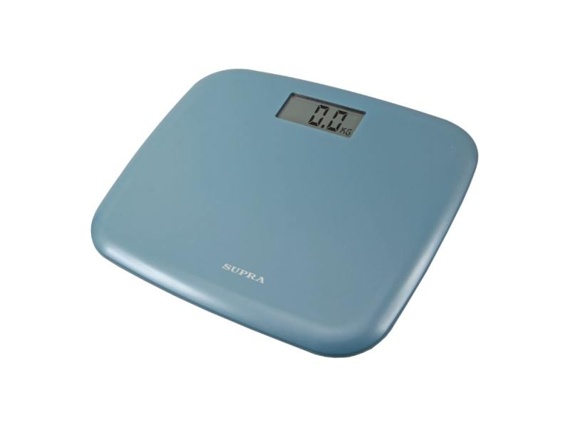 Весы напольные Supra BSS-6050 электронные голубой