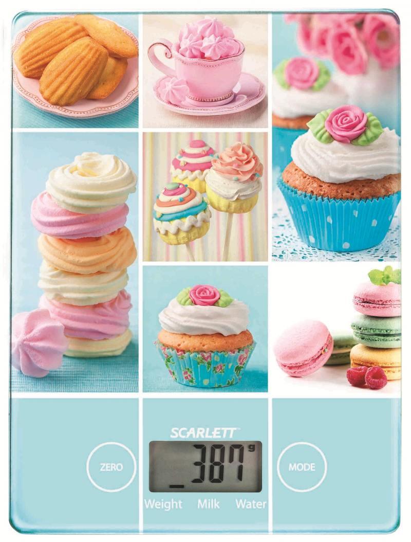 Весы кухонные Scarlett SC-KS57P05 рисунок стоимость