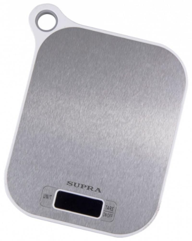 Весы кухонные Supra BSS-4077 белый-серый весы кухонные supra bss 4077 белый 10954