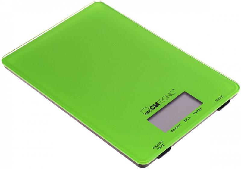 Весы кухонные Clatronic KW 3626 зелёный кексница clatronic cpm 3529 pink