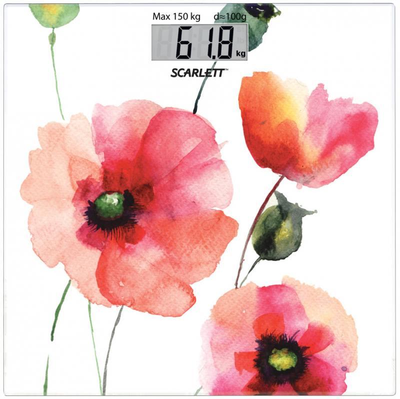 Весы напольные Scarlett SC-BS33E084 рисунок
