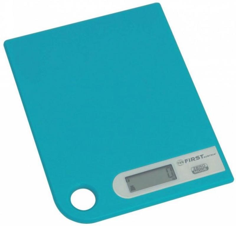 Весы кухонные First FA-6401-1-BL синий кухонные весы first fa 6401 1 wi