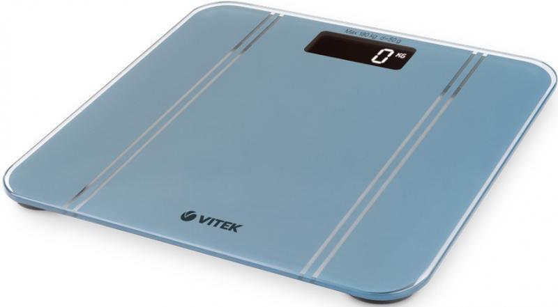 Весы напольные Vitek VT-8066 GY серый цена и фото