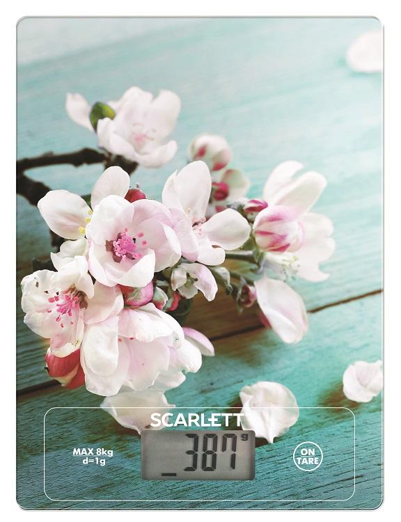 Кухонные весы Scarlett SC - KS57P20 (сакура)