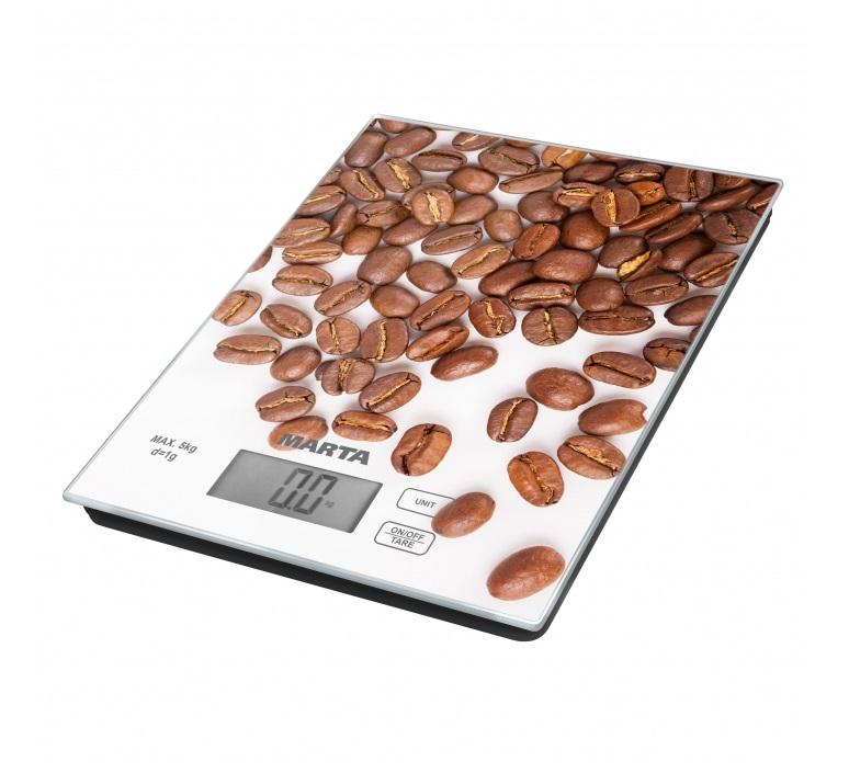 Весы кухонные Marta MT-1636 кофе мультиварка marta mt 4314 темный агат
