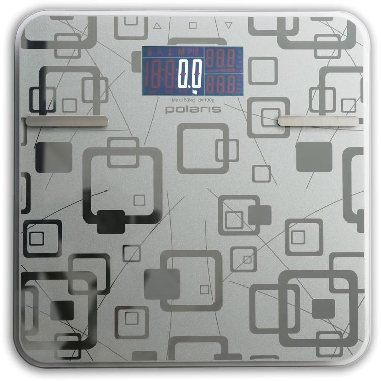 Весы напольные Polaris PWS 1834DGF, Серебро