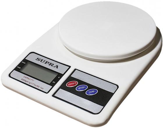 Весы кухонные Supra BSS-4042 белый
